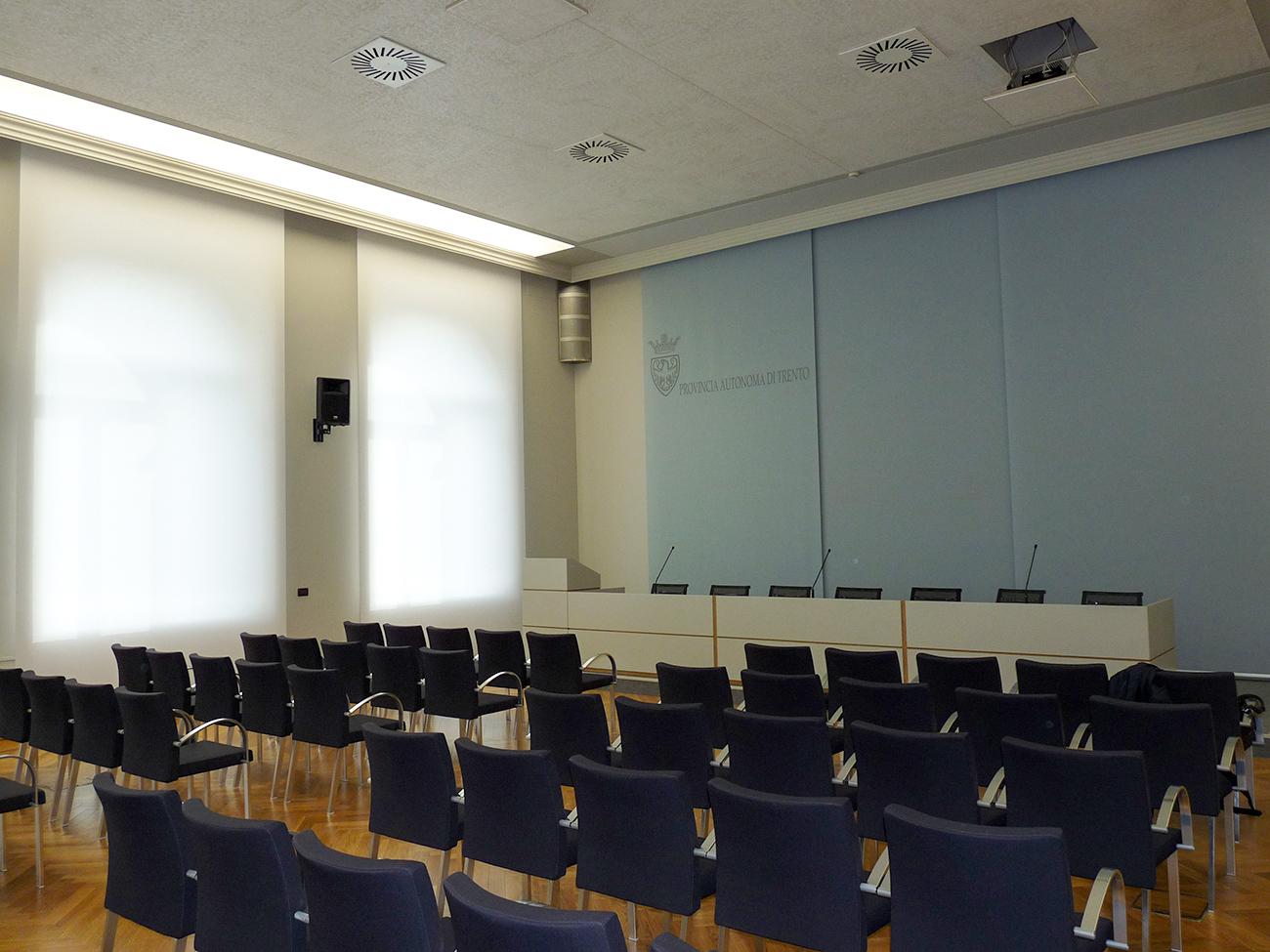 Sala stampa Provincia Autonoma di Trento
